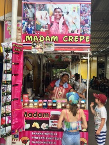 Fancy madame crepe!